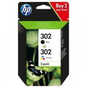 HP 302 (X4D37AE) Tintenpatrone MultiPack