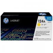 HP 124A (Q6002A) Toner gelb