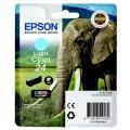 Epson 24 (C 13 T 24254012) Tintenpatrone cyan hell  kompatibel mit