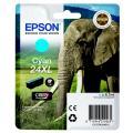 Epson 24XL (C 13 T 24324012) Tintenpatrone cyan  kompatibel mit