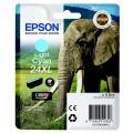 Epson 24XL (C 13 T 24354012) Tintenpatrone cyan hell  kompatibel mit