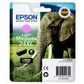 Epson 24XL (C 13 T 24364012) Tintenpatrone magenta hell  kompatibel mit