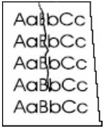 Drucker Hilfe: Knitterstellen bzw. Falten beim Papier
